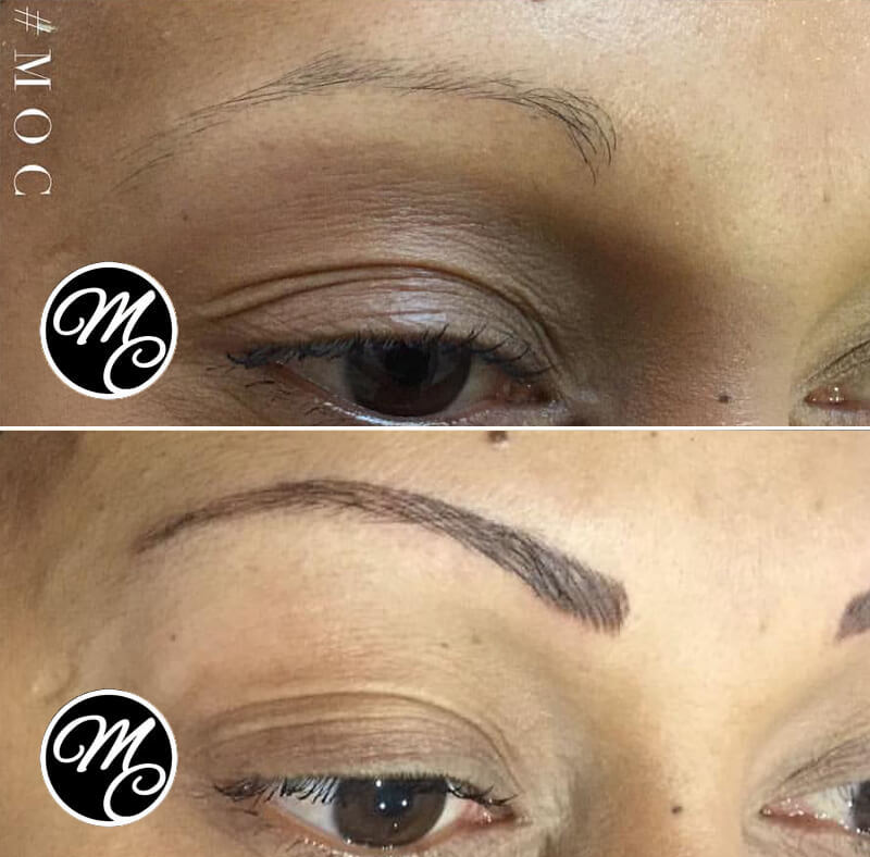 Medicine of Cosmetics - Feather Stroke Brows - Permanent Makeup