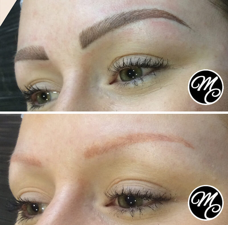 Medicine of Cosmetics - Ombre Feather Stroke Brows